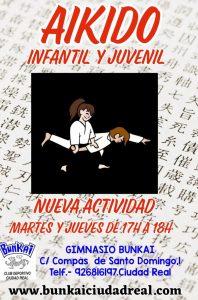 NUEVA ACTIVIDAD CLASES DE AIKIDO INFANTIL Y JUVENIL